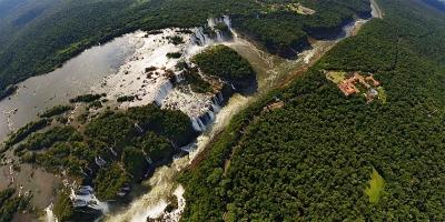 Fotografia Panorâmica do Iguazú