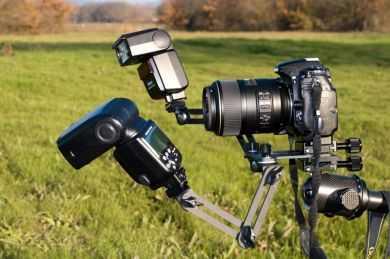 Review - Suporte macro duplo flash GT-M2F - FotoCamo.com